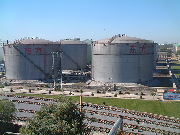 The Base Oil Storage Facility Has 42 Tanks Located In Two Adjacent Tank Farms This Offers A Total Capacity Of 35 000